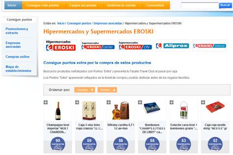 Puntos extra eroski travel club travelclubadictos 2018 for Catalogo puntos bp